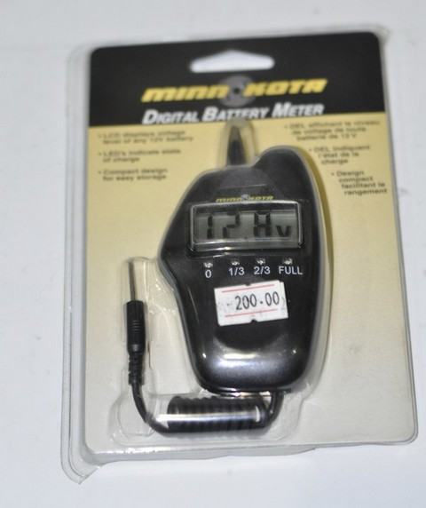DIGITAL BATTEREY METER