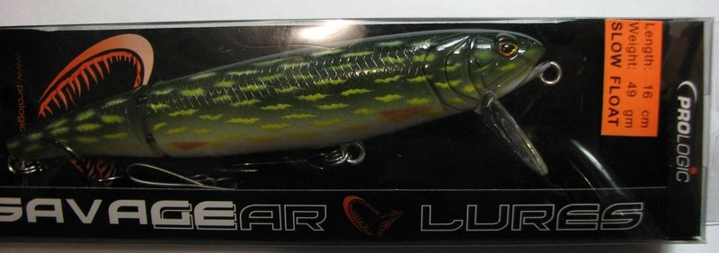 CIKO Воблер SAVADGER LURES Butch Lure slow float 16 Pike